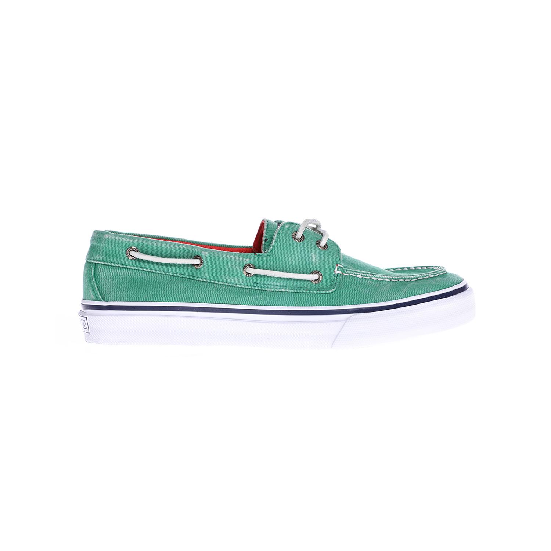 SPERRY - Ανδρικά παπούτσια SPERRY BAHAMA πράσινα ανδρικά παπούτσια μοκασίνια loafers