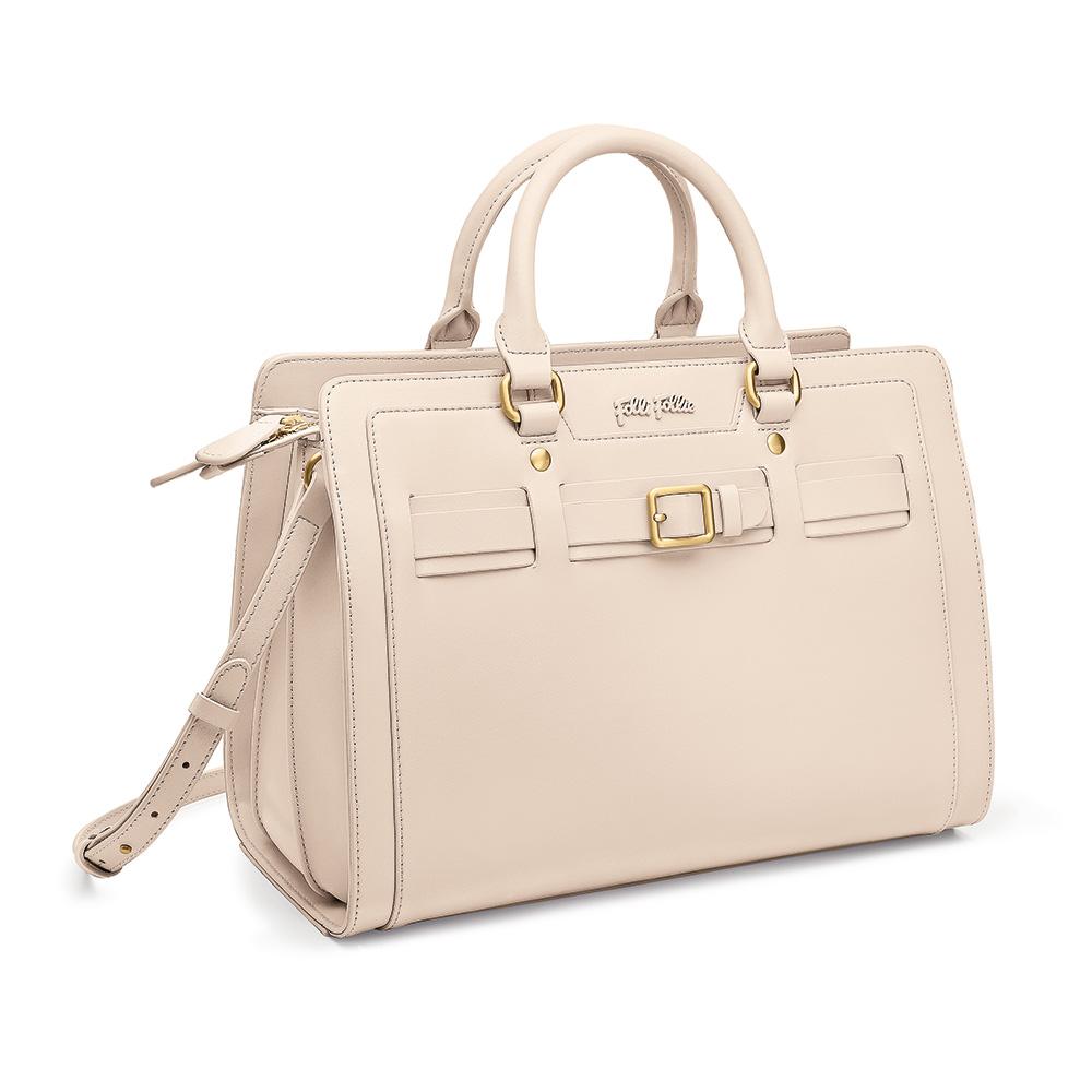 FOLLI FOLLIE – Γυναικεία τσάντα χειρός FOLLI FOLLIE εκρού 1598279.0-0000