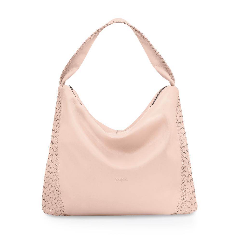 FOLLI FOLLIE - Γυναικεία τσάντα FOLLI FOLLIE ροζ γυναικεία αξεσουάρ τσάντες σακίδια ωμου