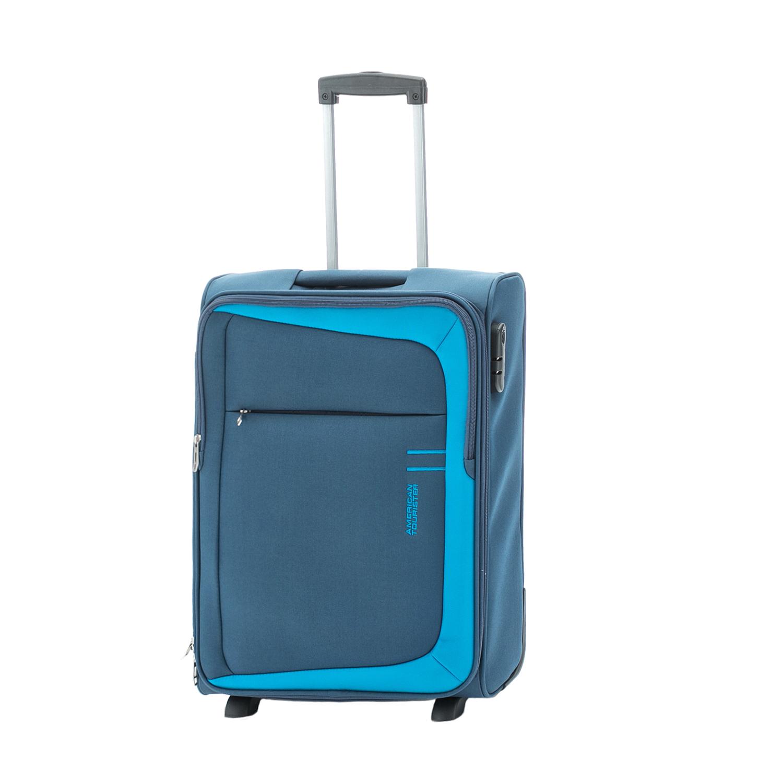 AMERICAN TOURISTER – Βαλίτσα καμπίνας HYPERFLAIR UPRIGHT 55/20 American Tourister μπλε