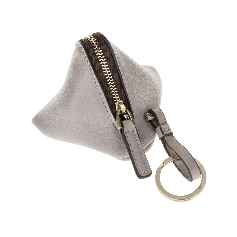 CALVIN KLEIN JEANS – Γυναικείο πορτοφόλι MILLI3 COIN POUCH γκρι