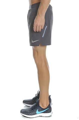 NIKE-Ανδρικό σορτς NIKE FLX STRIDE SHORT BF 5IN ανθρακί