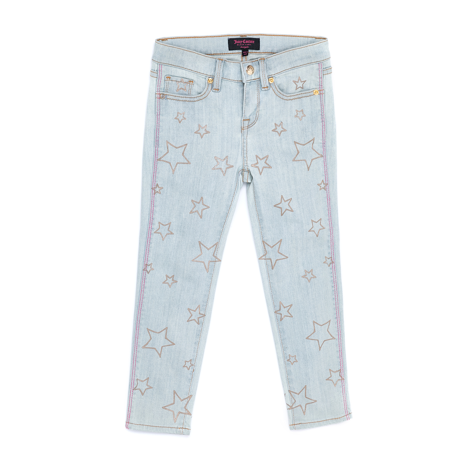 JUICY COUTURE KIDS – Παιδικό παντελόνι JUICY COUTURE KIDS μπλε