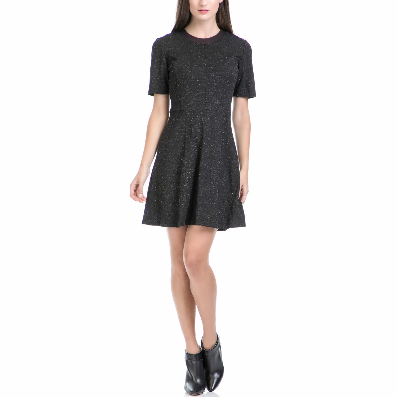 JUICY COUTURE - Φόρεμα JUICY COUTURE μαύρο γυναικεία ρούχα φορέματα μίνι