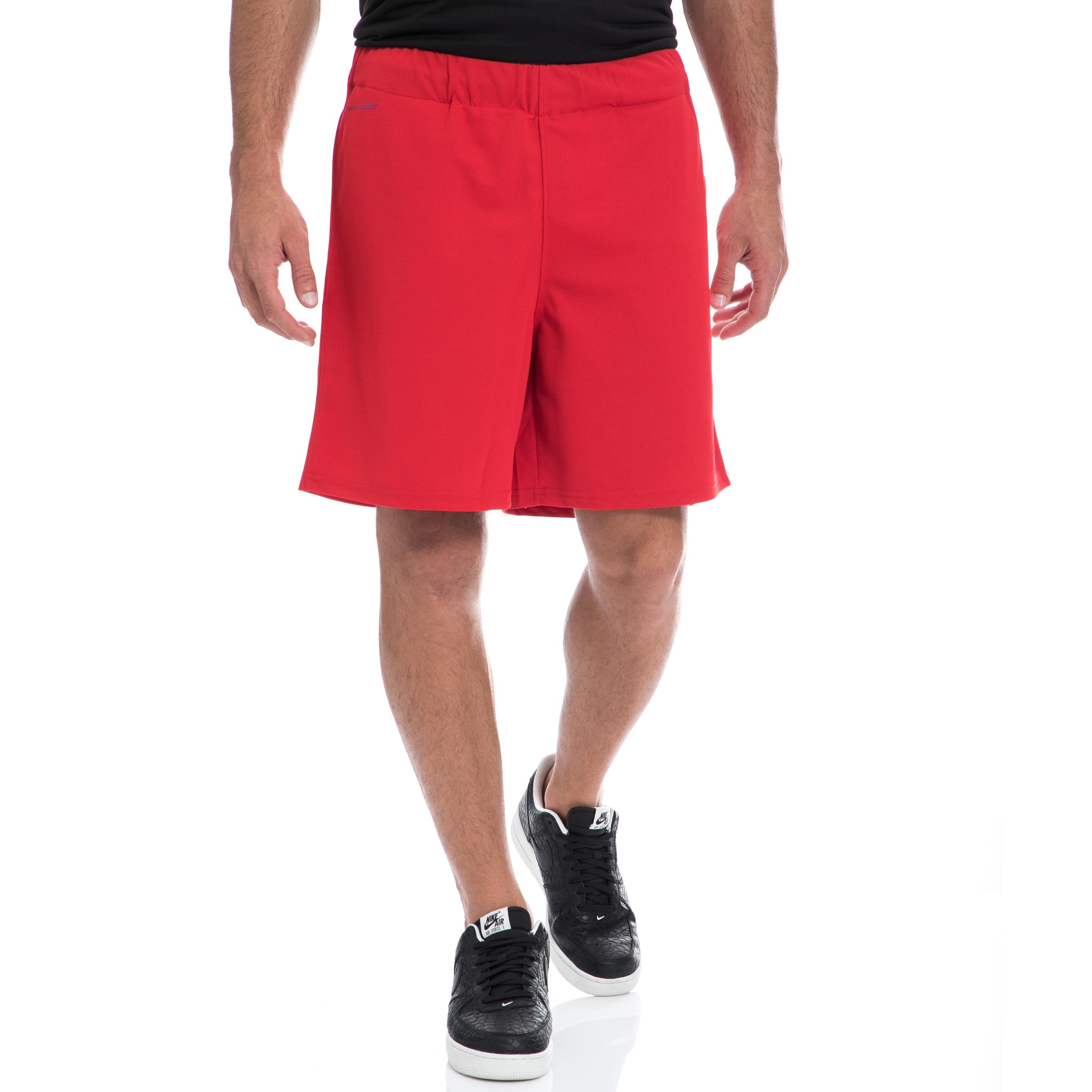 GSA - Αντρική βερμούδα GSA κόκκινη ανδρικά ρούχα σορτς βερμούδες αθλητικά