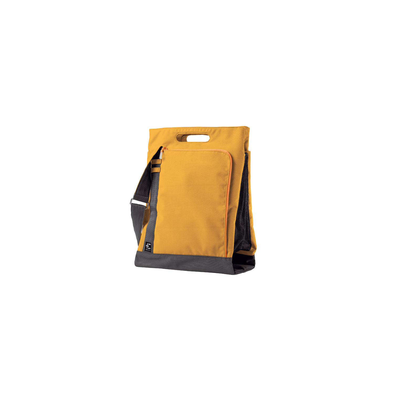 TERRANATION - Τσάντα παραλίας TAMA KOPU κίτρινη γυναικεία αξεσουάρ τσάντες σακίδια ωμου