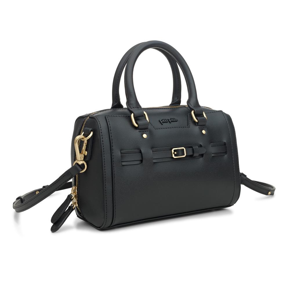 FOLLI FOLLIE – Γυναικεία τσάντα χειρός FOLLI FOLLIE μαύρη 1601554.0-0000