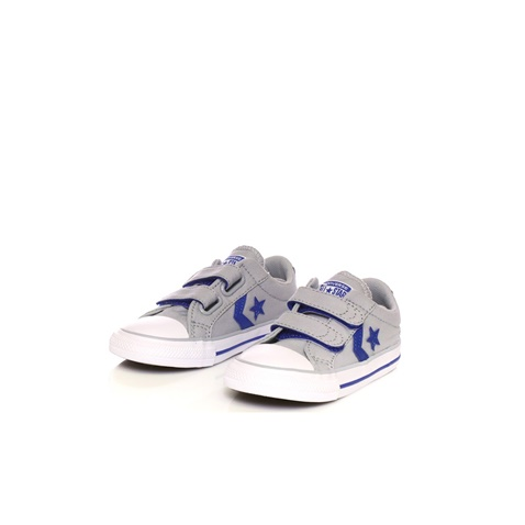 CONVERSE-Βρεφικά sneakers Converse Star Player Ox γκρι