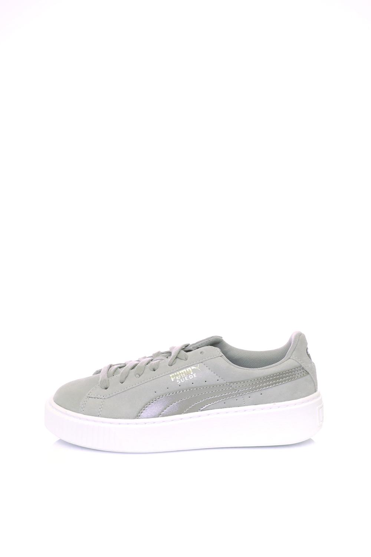 PUMA – Γυναικεία αθλητικά παπούτσια Suede Platform Safar PUMA γκρι