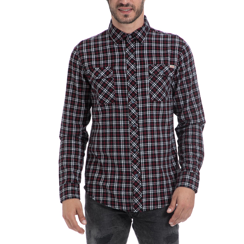 EMERSON – Αντρικό πουκάμισο EMERSON καρό