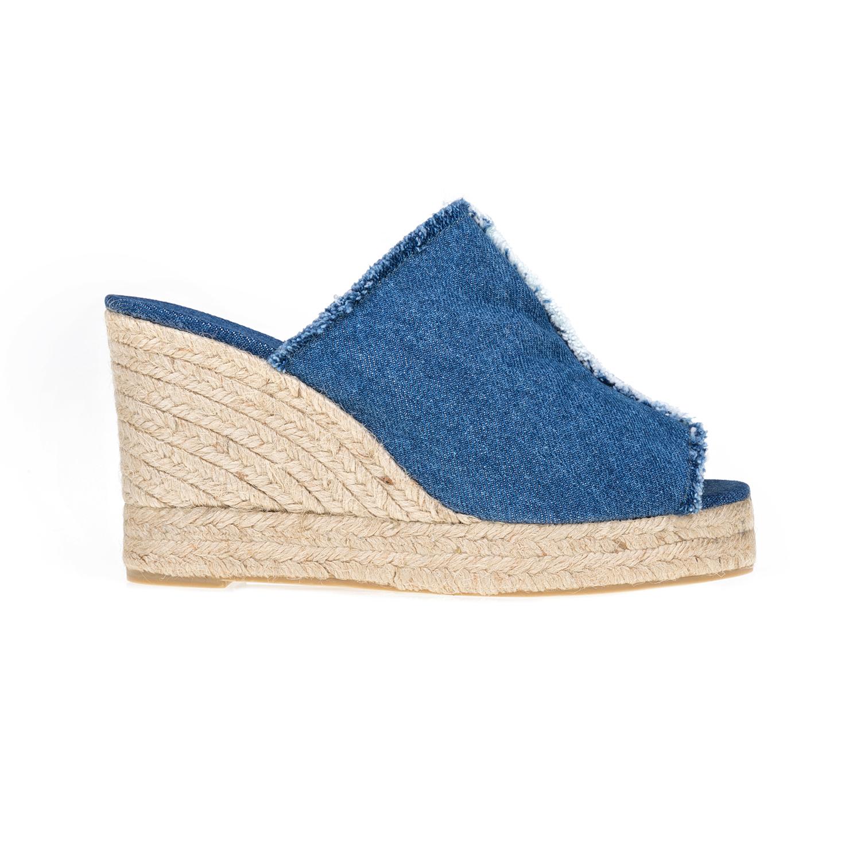 CASTANER – Γυναικείες πλατφόρμες CASTANER μπλε