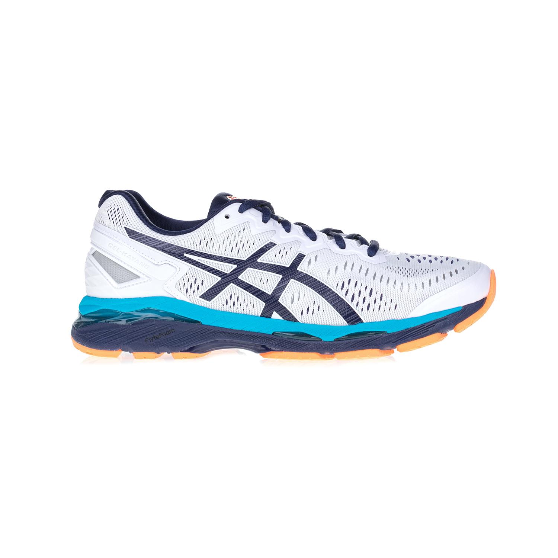ASICS - Αντρικά αθλητικά παπούτσια ASICS Gel Κayano 23 άσπρα-μπλε ανδρικά παπούτσια αθλητικά running