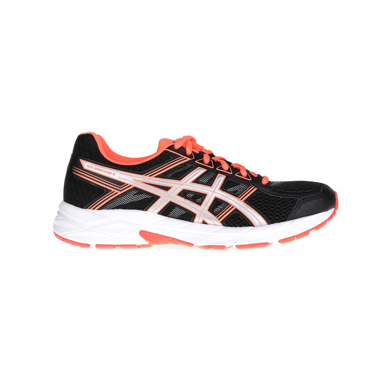 ASICS - Γυναικεία αθλητικά παπούτσια GEL-CONTEND 4 ASICS μαύρα-πορτοκαλί γυναικεία παπούτσια αθλητικά running