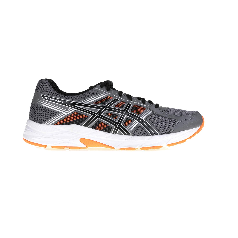 ASICS - Αντρικά αθλητικά παπούτσια GEL-CONTEND 4 ASICS γκρι-πορτοκαλί ανδρικά παπούτσια αθλητικά running