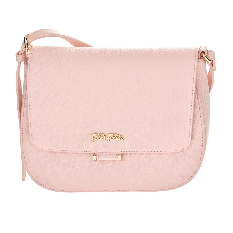 FOLLI FOLLIE – Γυναικεία μικρή τσάντα χιαστί Folli Follie ροζ 1610538.0-0000