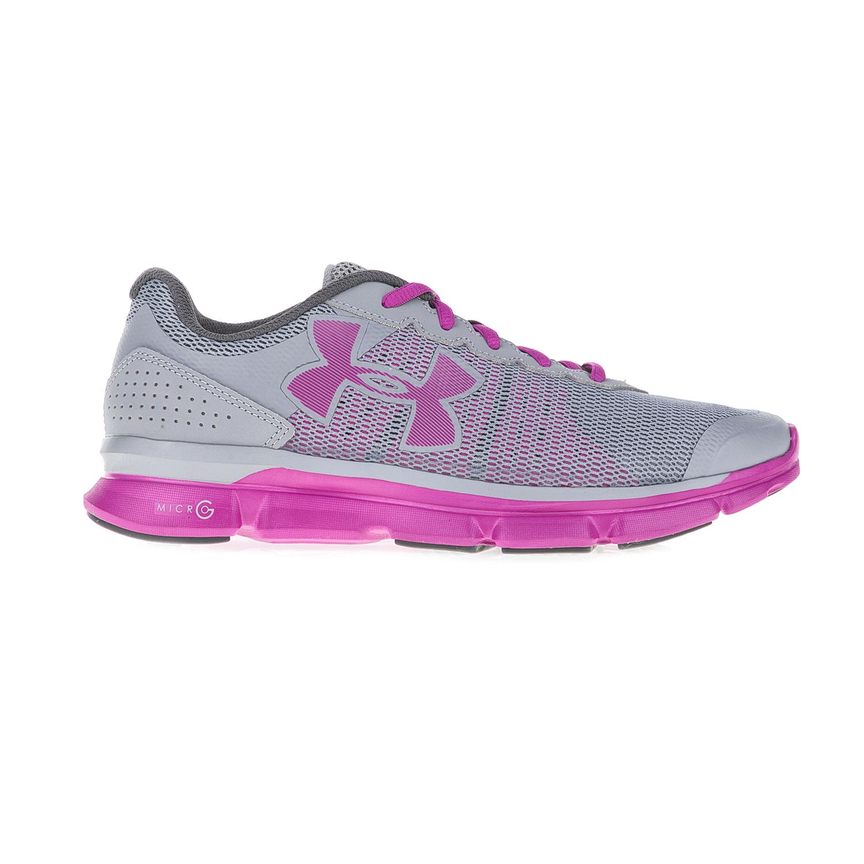 UNDER ARMOUR – Γυναικεία αθλητικά παπούτσια UNDER ARMOUR MICRO G SPEED SWI γκρι-μοβ