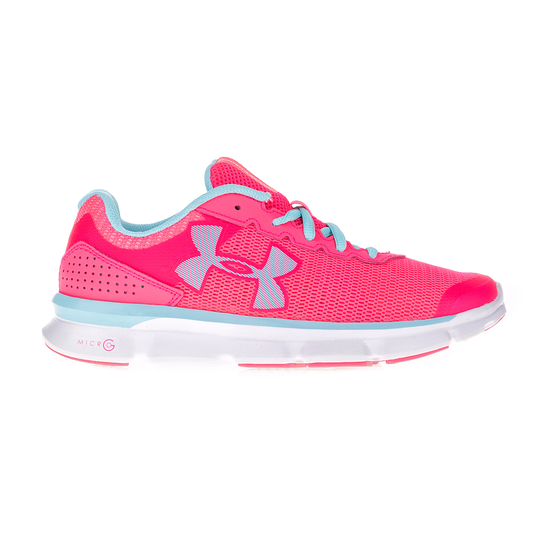 UNDER ARMOUR – Γυναικεία αθλητικά παπούτσια UNDER ARMOUR MICRO G SPEED SWI ροζ-μπλε