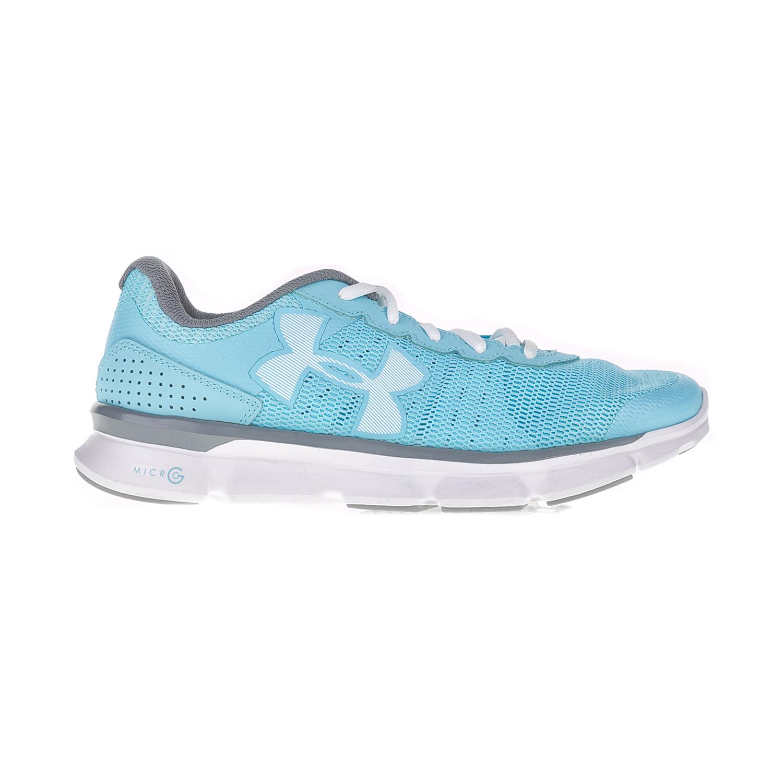 UNDER ARMOUR – Γυναικεία αθλητικά παπούτσια UNDER ARMOUR MICRO G SPEED SWI μπλε-λευκά