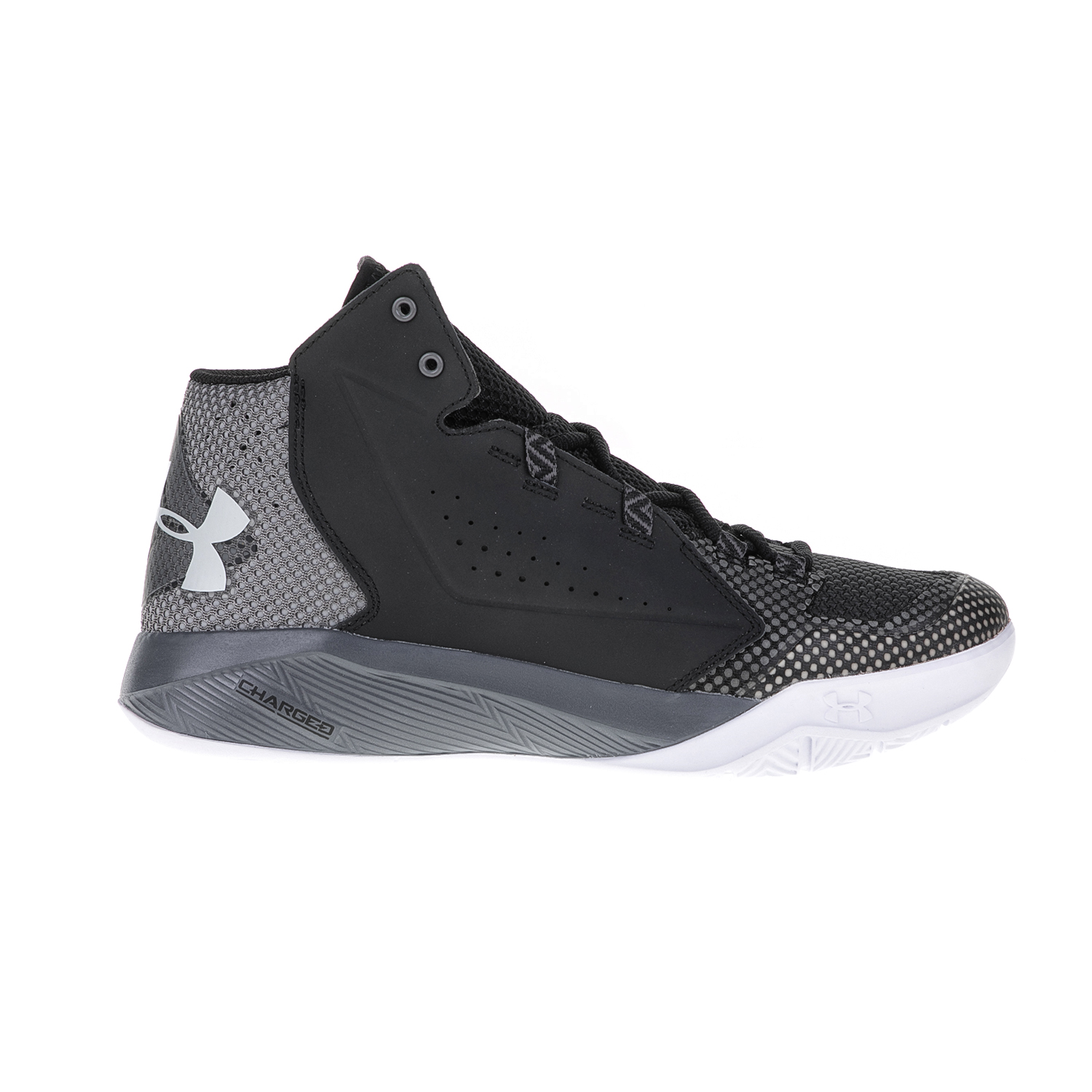 UNDER ARMOUR – Ανδρικά παπούτσια μπάσκετ UNDER ARMOUR Torch Fade γκρι-μαύρα