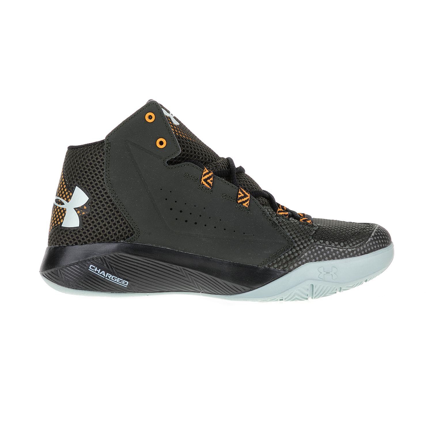 UNDER ARMOUR – Ανδρικά παπούτσια μπάσκετ UNDER ARMOUR Torch Fade καφέ-μαύρα