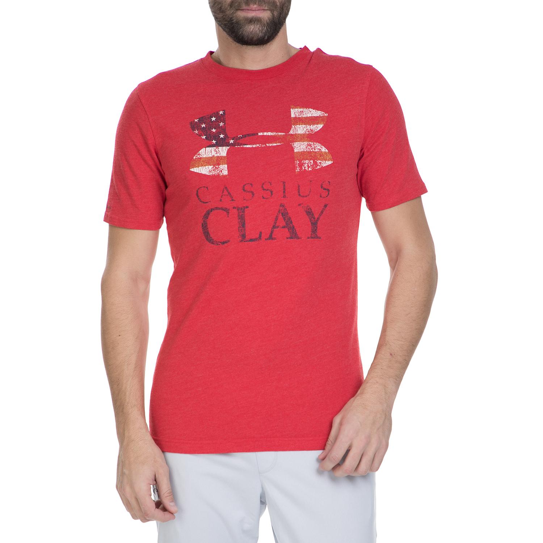 UNDER ARMOUR - Ανδρική κοντομάνικη μπλούζα Under Armour CASSIUS CLAY SPORTSTYL κ ανδρικά ρούχα αθλητικά t shirt