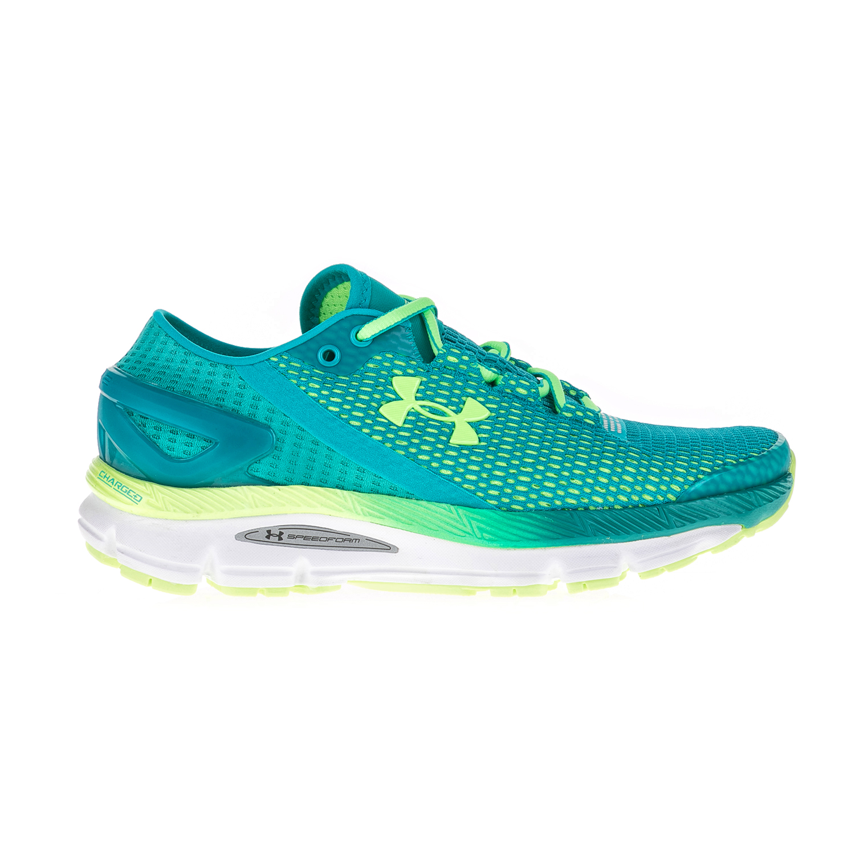 UNDER ARMOUR – Γυναικεία αθλητικά παπούτσια UNDER ARMOUR SPEEDFORM GEMINI μπλε-κίτρινα