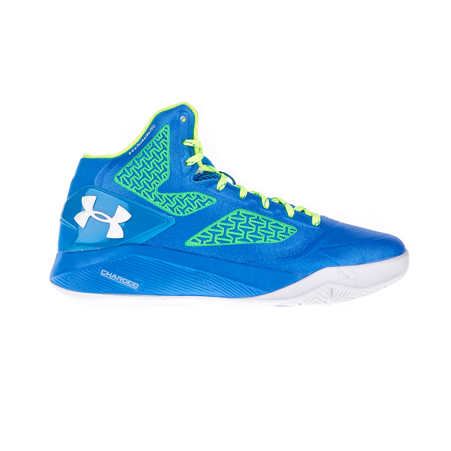 UNDER ARMOUR – Ανδρικά παπούτσια μπάσκετ UNDER ARMOUR CLUTCHFIT DRIVE 2 F μπλε-πράσινα