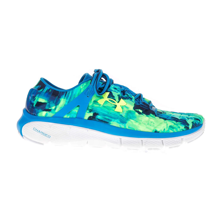UNDER ARMOUR - Γυναικεία αθλητικά παπούτσια UNDER ARMOUR SPEEDFORM FORTIS πράσινα-μπλε