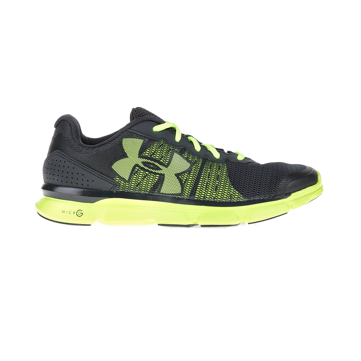 UNDER ARMOUR - Ανδρικά αθλητικά παπούτσια UNDER ARMOUR MICRO G SPEED SWIFT μαύρα-πράσινα