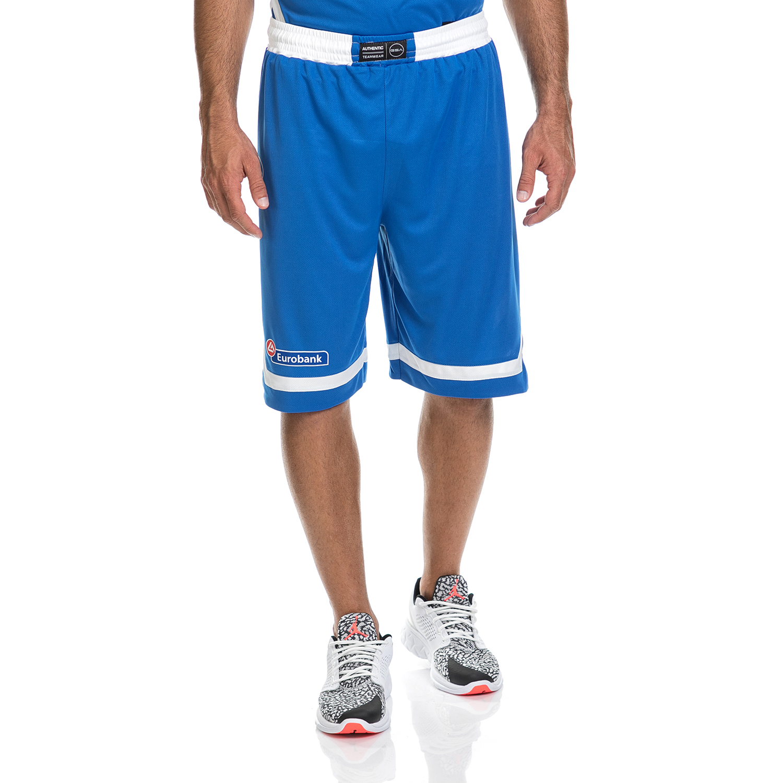 GSA - Ανδρική βερμούδα της Εθνικής Ελλάδος Basket GSA μπλε ανδρικά ρούχα σορτς βερμούδες αθλητικά