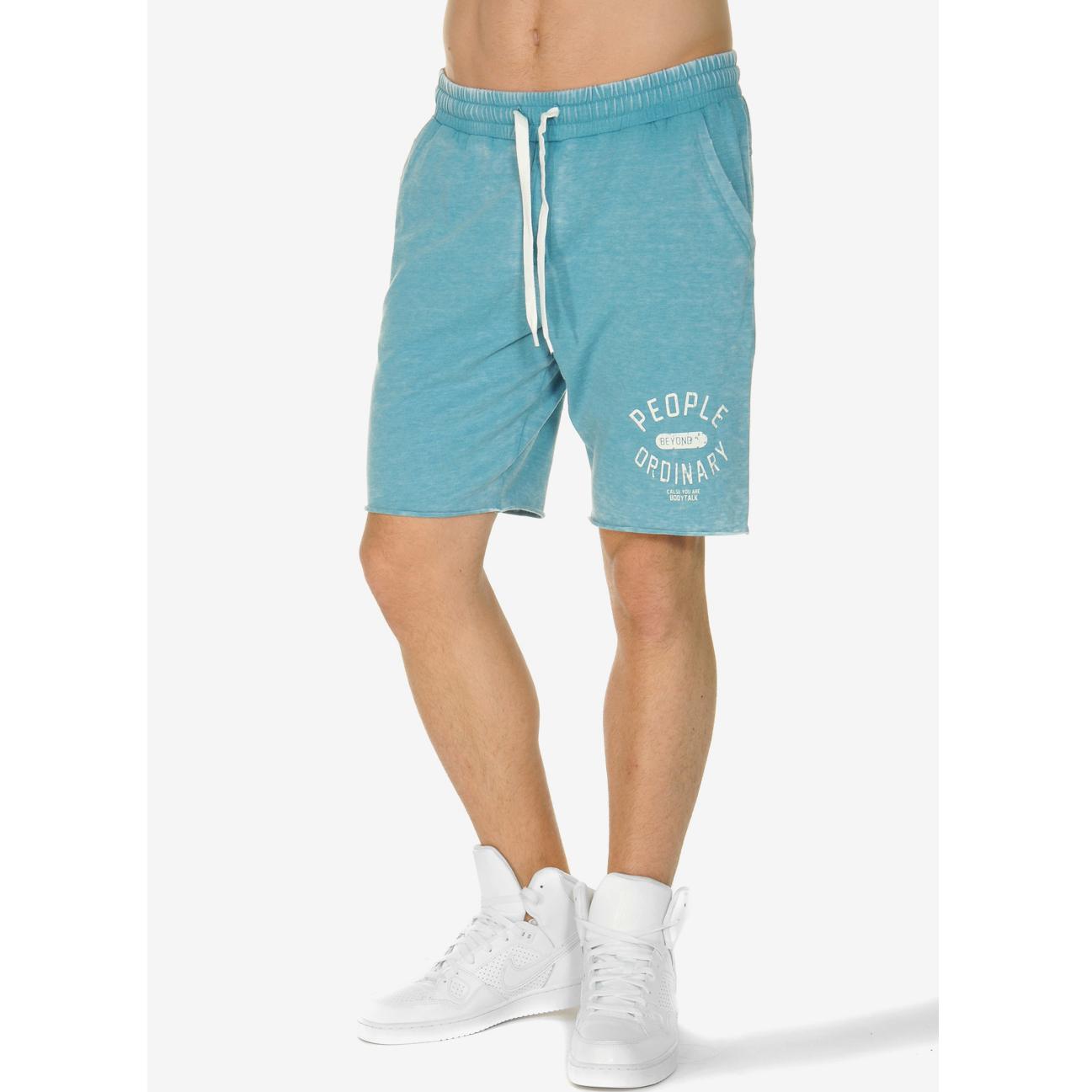 BODYTALK - Αντρική βερμούδα BODYTALK μπλε ανδρικά ρούχα σορτς βερμούδες αθλητικά