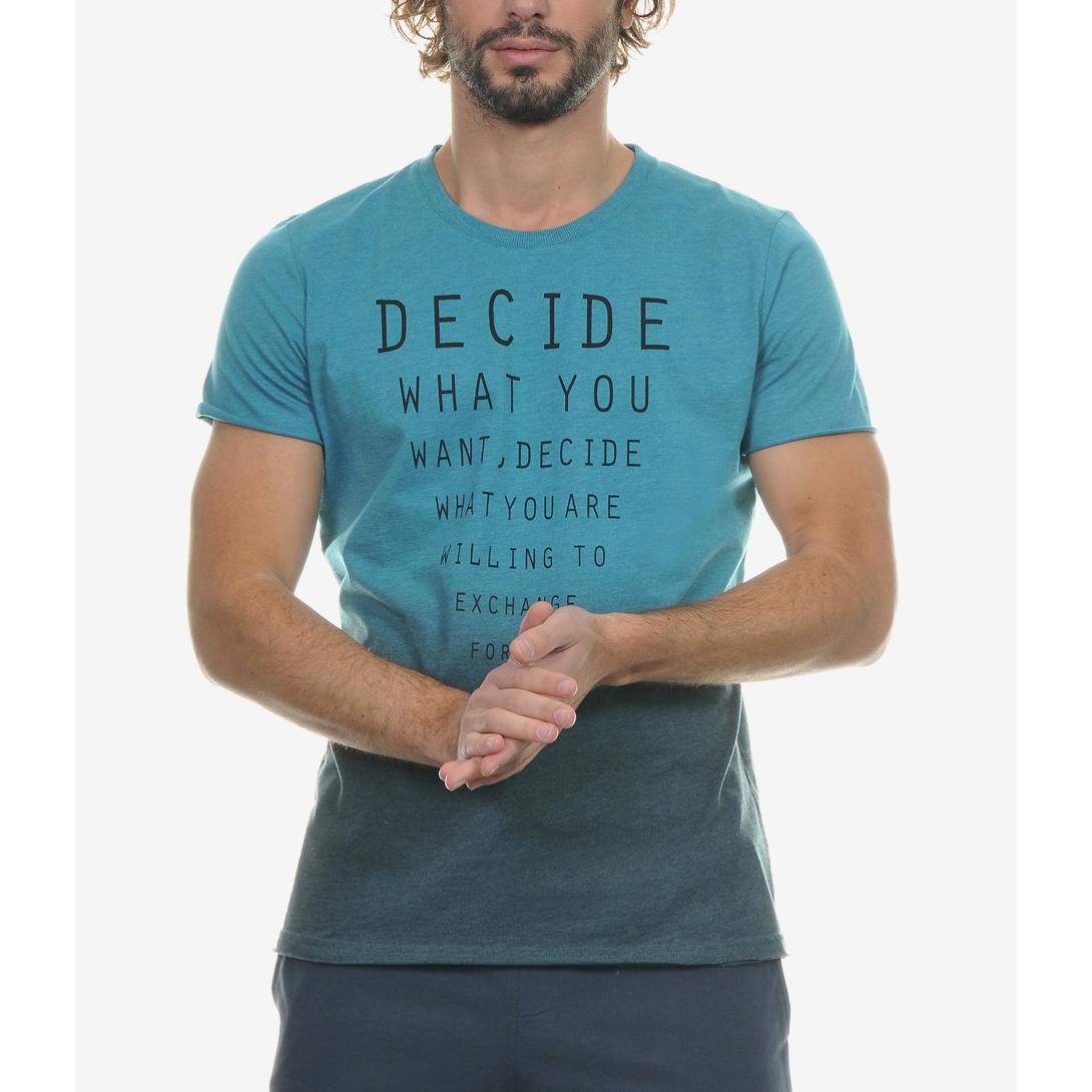 BODYTALK - Αντρική μπλούζα BODYTALK μπλε ανδρικά ρούχα μπλούζες κοντομάνικες