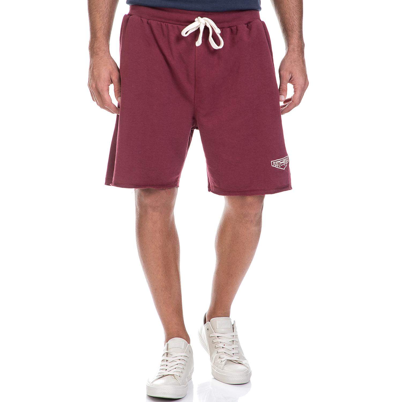 JUST POLO - Ανδρική βερμούδα Just Polo κόκκινη ανδρικά ρούχα σορτς βερμούδες αθλητικά