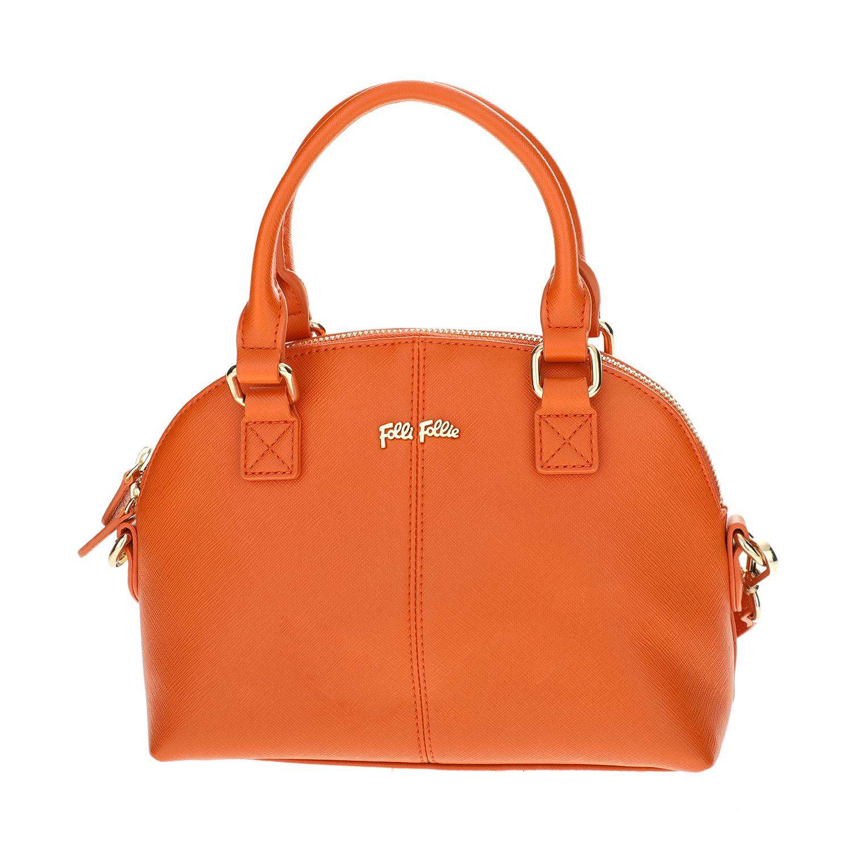 FOLLI FOLLIE – Γυναικεία μικρή τσάντα χειρός Folli Follie πορτοκαλί 1618095.0-0000