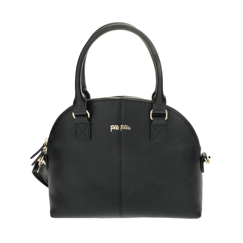 FOLLI FOLLIE – Γυναικεία μεγάλη τσάντα χειρός Folli Follie μαύρη 1618097.0-0000