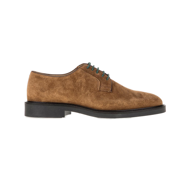 GANT - Ανδρικά παπούτσια GANT Spencer καφέ ανδρικά παπούτσια μοκασίνια loafers