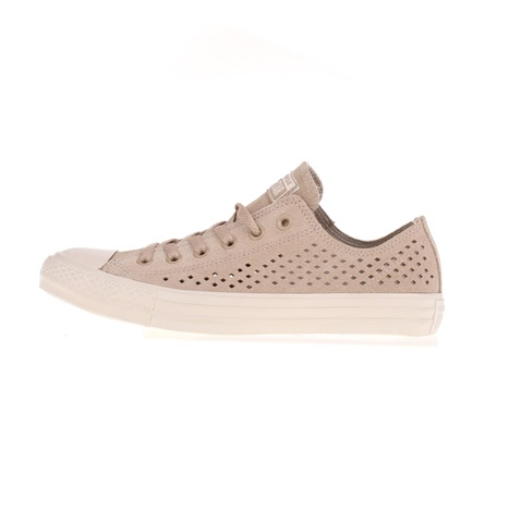CONVERSE-Unisex sneakers CONVERSE Chuck Taylor All Star Ox μπεζ