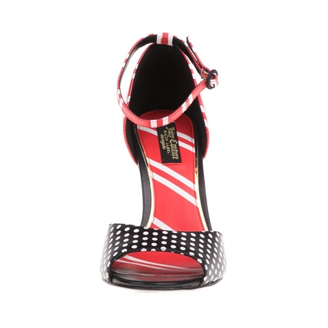 5f9dfad590e Γυναικεία πέδιλα IRINA JUICY COUTURE μαύρα-κόκκινα (1618846.0-7290 ...