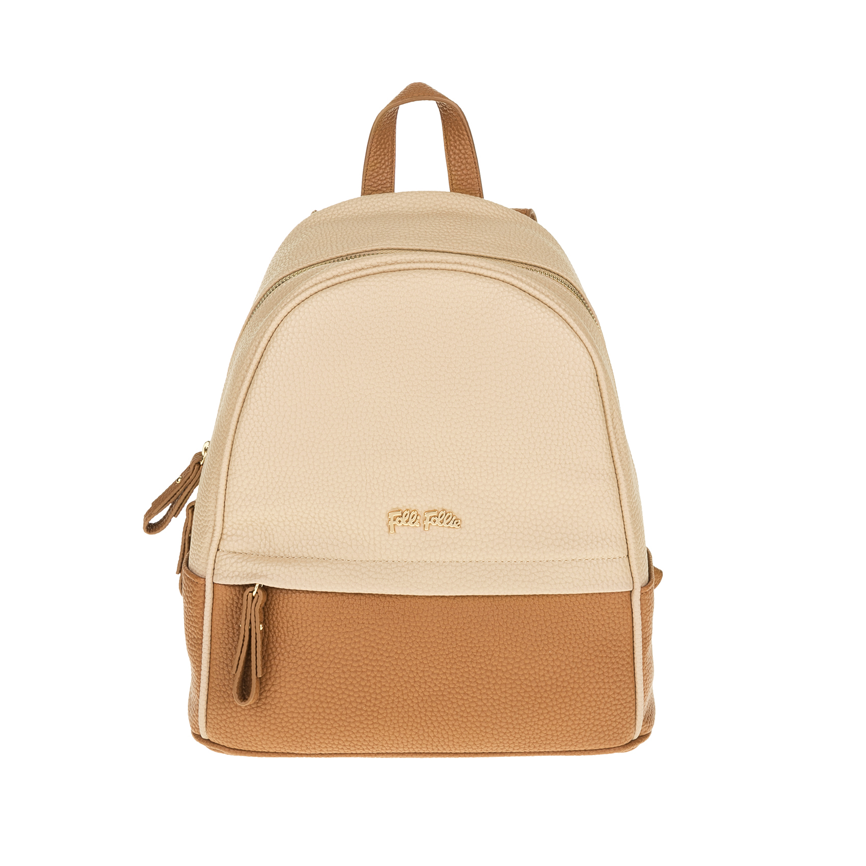 FOLLI FOLLIE – Γυναικεία τσάντα πλάτης FOLLI FOLLIE μπεζ-καφέ 1619083.0-0000