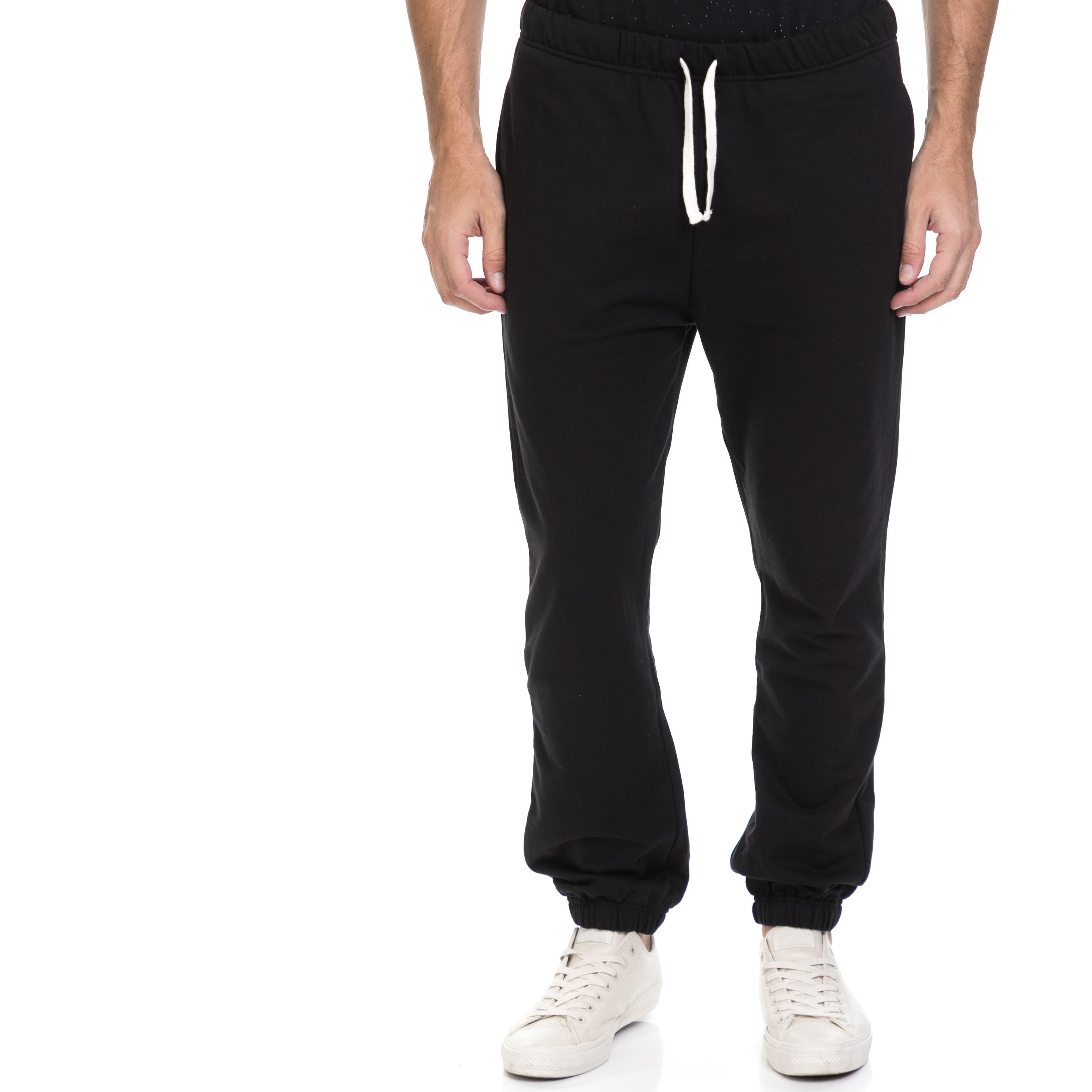GSA - Ανδρική φόρμα JEPA GSA μαύρη ανδρικά ρούχα αθλητικά φόρμες