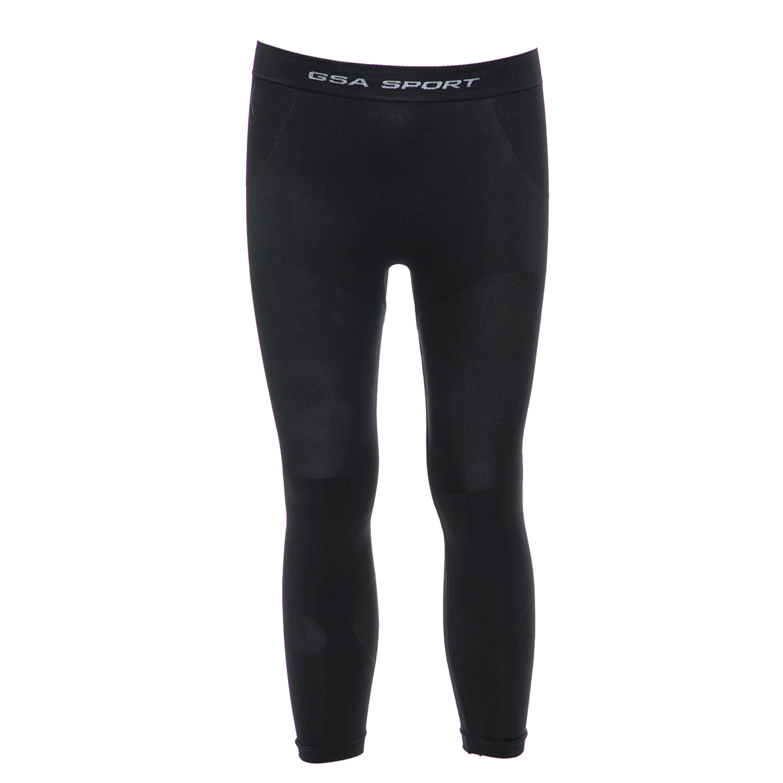 GSA - Ανδρικό ισοθερμικό κολάν GSA μαύρο ανδρικά ρούχα αθλητικά κολάν