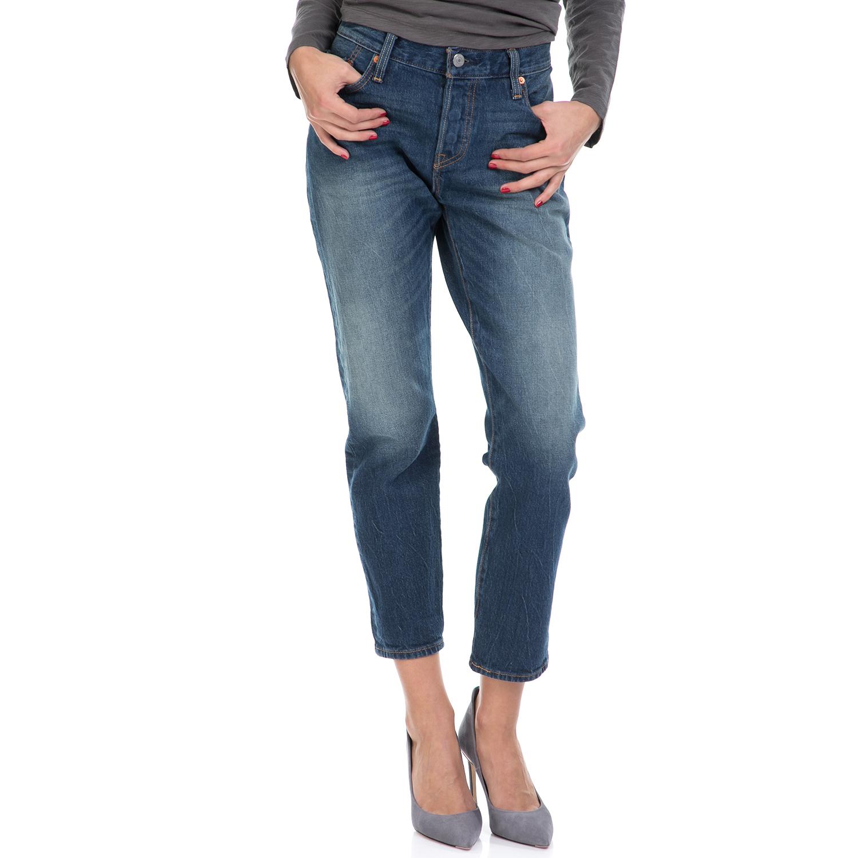 LEVI'S – Γυναικείο τζιν παντελόνι 501 CT JEANS FOR WOMEN LEVI'S μπλε
