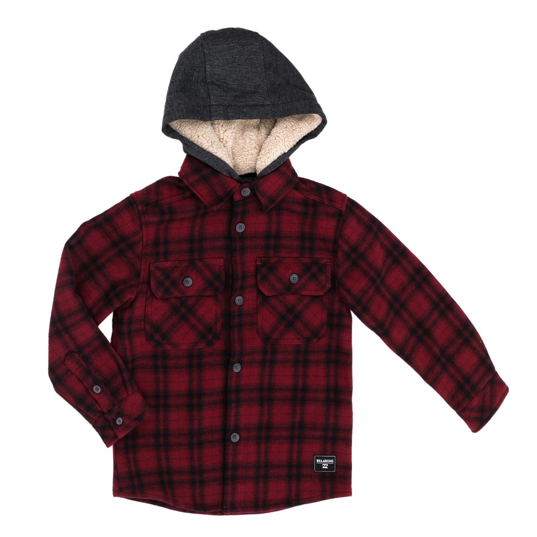 BILLABONG – Παιδικό πουκάμισο BILLABONG CU κόκκινο-μαύρο