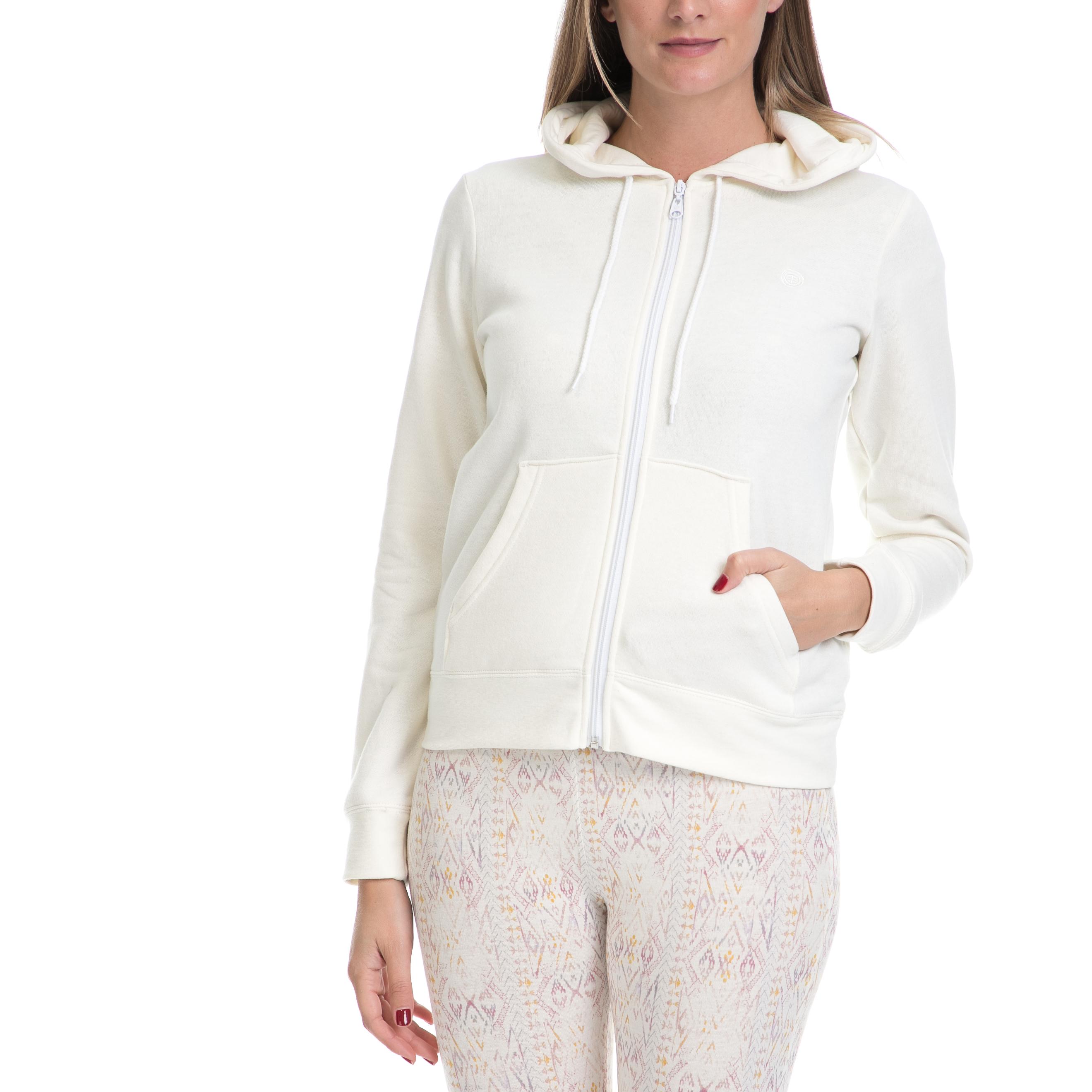 ELEMENT - Γυναικεία ζακέτα ELEMENT ERIN λευκή γυναικεία ρούχα πλεκτά ζακέτες ζακέτες