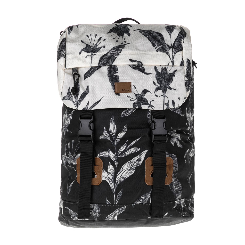 ROXY – Γυνακεία τσάντα πλάτης SUNSET PACIFIC ROXY μαύρο-λευκό