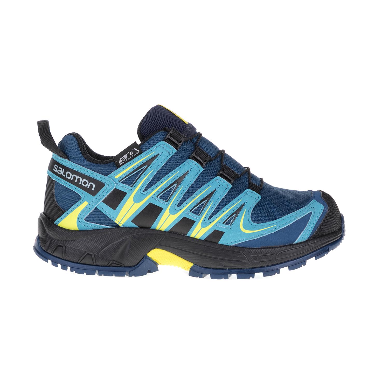 SALOMON – Παιδικά παπούτσια XA PRO 3D CSWP J M SALOMON μπλε-μαύρα