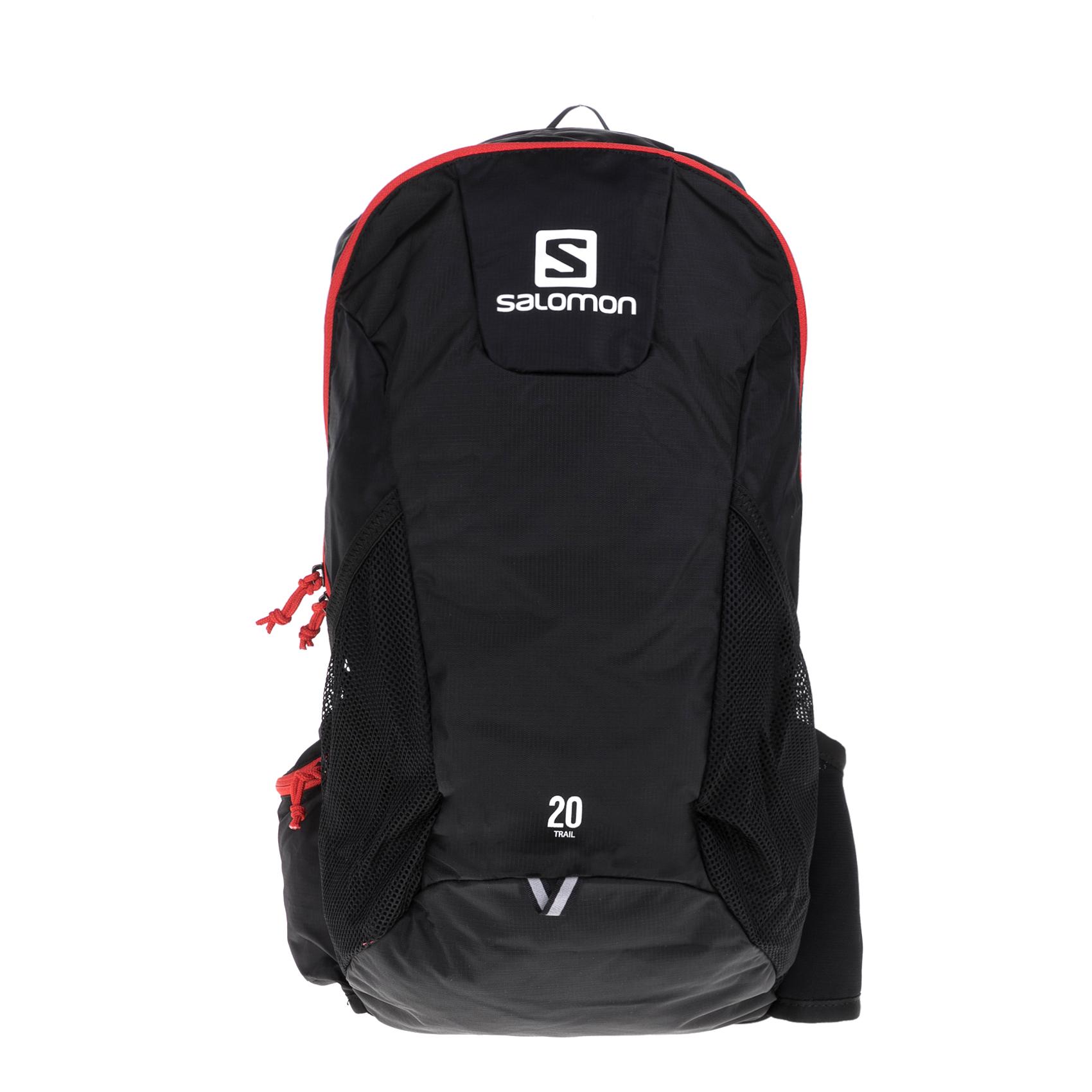 SALOMON – Σακίδιο πλάτης SALOMON PACKS BAG TRAIL 20 B μαύρο-κόκκινο