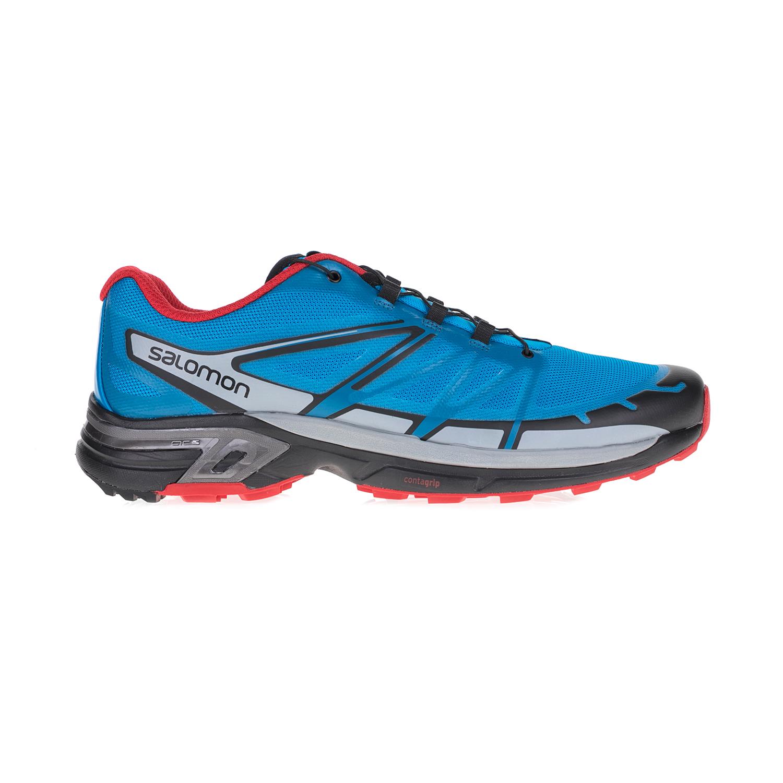 SALOMON – Ανδρικά αθλητικά παπούτσια TRAIL RUNNING SHOES WINGS PRO SALOMON μπλε-κόκκινα