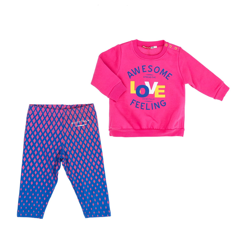 BODYTALK – Παιδικό σετ BODYTALK ροζ-μπλε