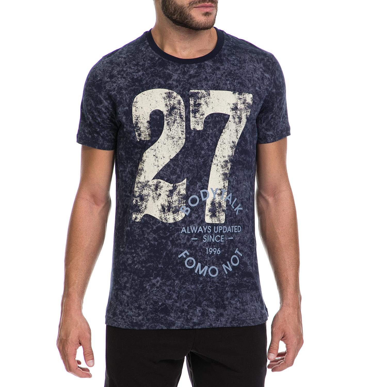 BODYTALK - Ανδρικό T-shirt BODYTALK μπλε ανδρικά ρούχα μπλούζες κοντομάνικες